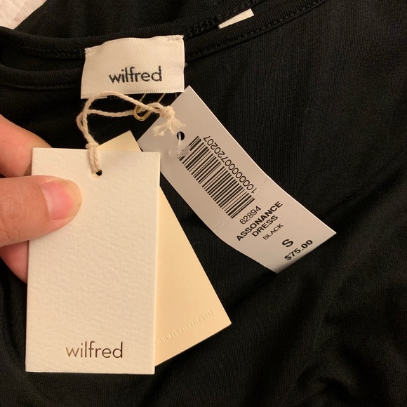 Aritzia Dresses & Skirts - Aritzia Wilfred black dress NWT